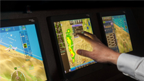 Rockwell Collins Pro Line Fusion touchscreen