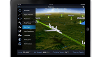 Rockwell Collins' Airshow for iPad