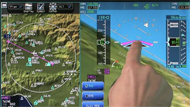 Pro Line Fusion featuring Touchscreen Flight Displays