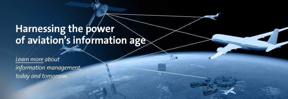 Harnessing the power of aviation's information age