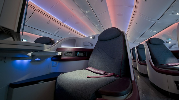 Image of an aircraft cabin