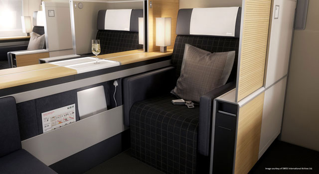 Image of super first class seating configuration