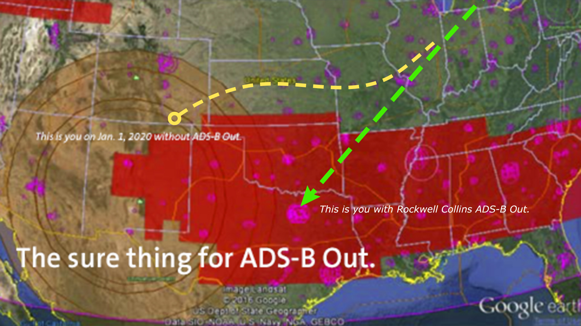 The sure thing for ADS-B Out