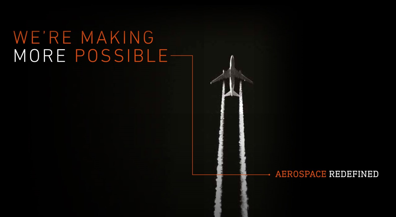 Redefining Aerospace By Making More Possible